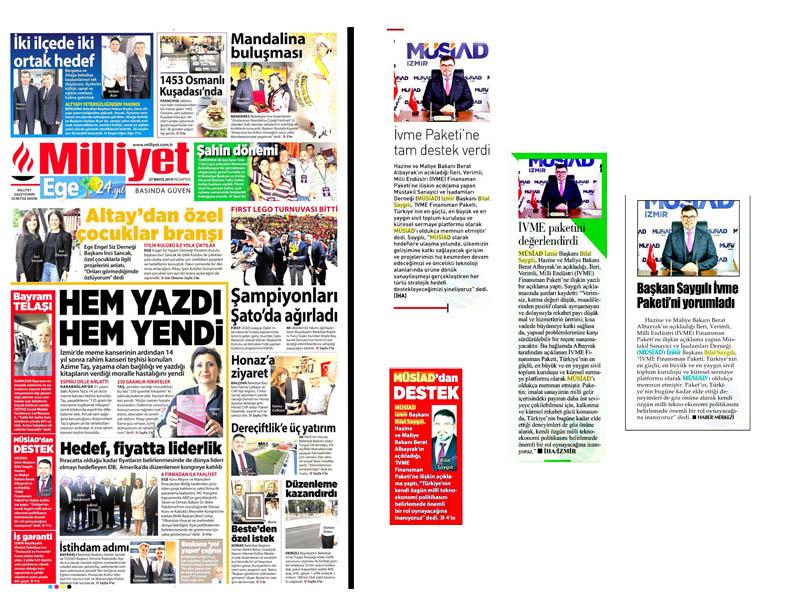BAŞKAN SAYGILI 'İVME PAKETİ'Nİ DEĞERLENDİRDİ