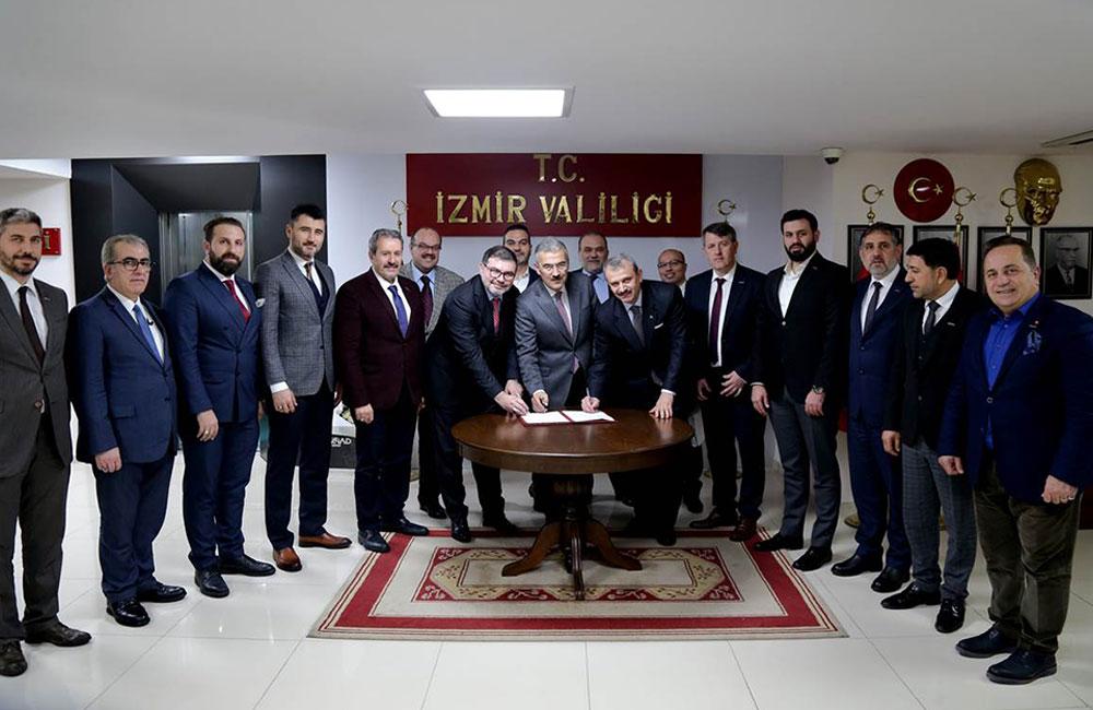 İZMİR'DE BAĞIMLILIKLA MÜCADELE PROTOKOLÜ