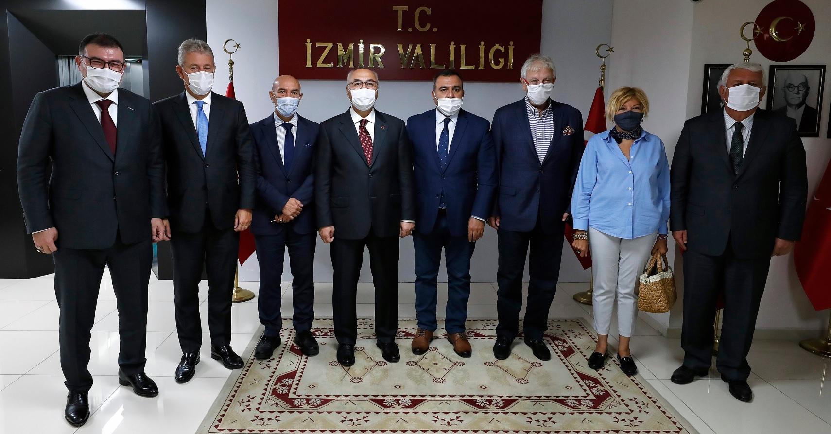 İZMİR'DEN AZERBAYCAN'A DESTEK MESAJI