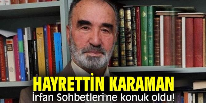 MÜSİAD İZMİR HAYRETTİN KARAMAN'I AĞIRLADI