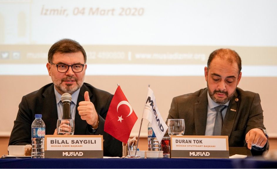 MÜSİAD STUTTGART İLE TİCARET ZİRVESİ PROGRAMI - EGE TV