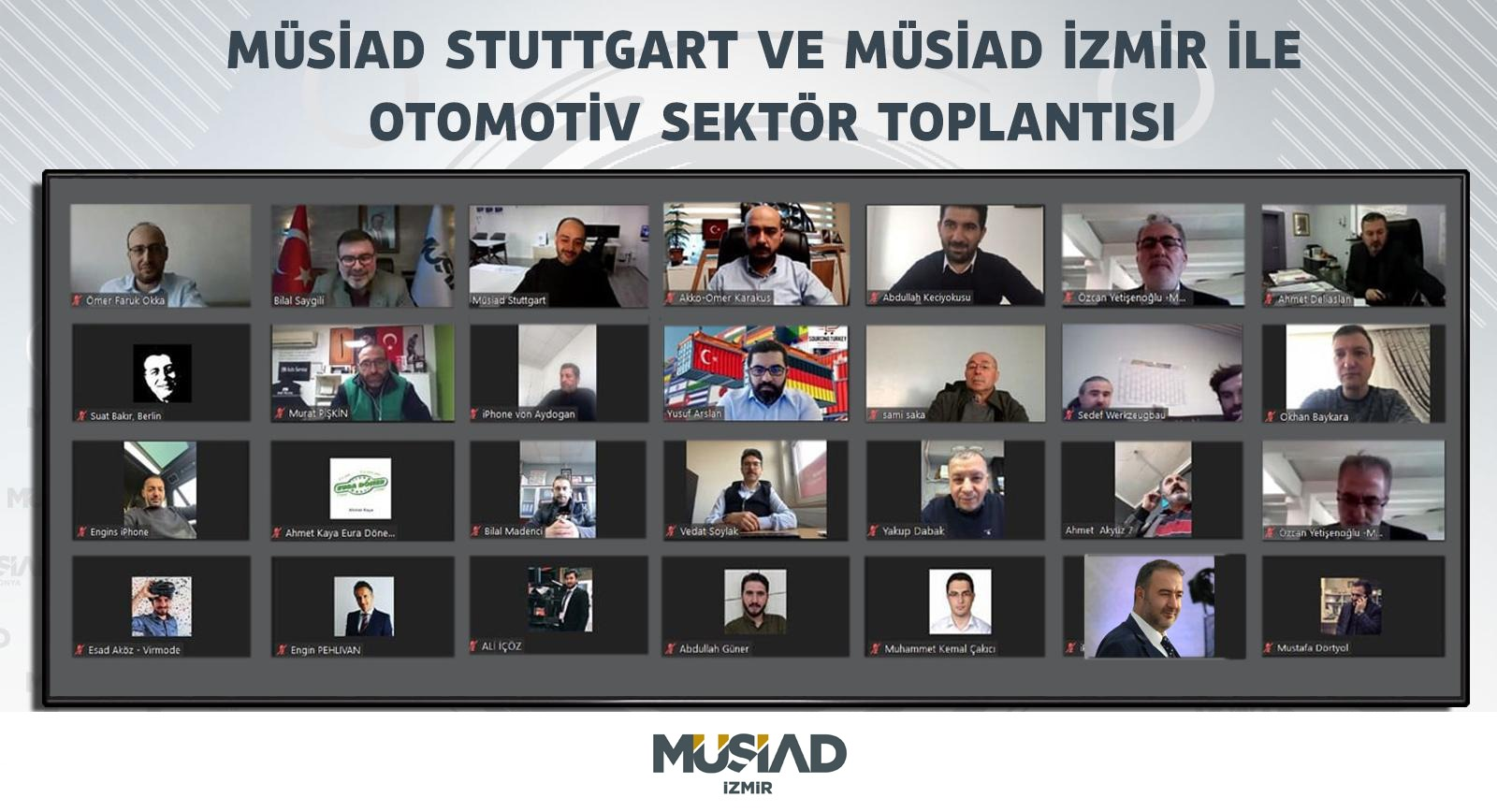 MÜSİAD'DAN ALMAN OTOMOTİV SEKTÖRÜNE ATAK