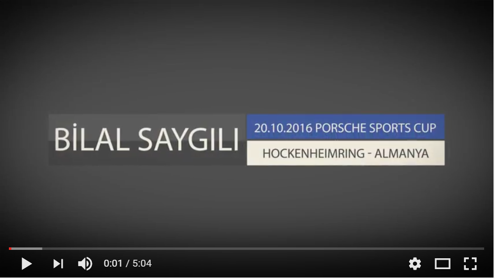 PORSCHE SPORTS CUP 2016 HOCKENHEIMRING YARIŞI