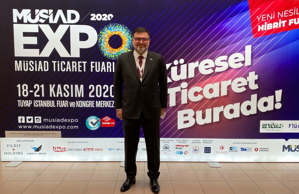 ÜRETİM VE TİCARETİN KALBİ 18. MÜSİAD EXPO'DA ATTI